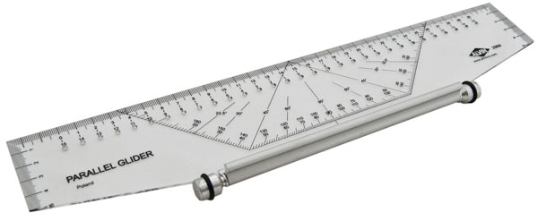 Drawing Parallel Lines With Compass : Alvin professional cm parallel glider drafting tool